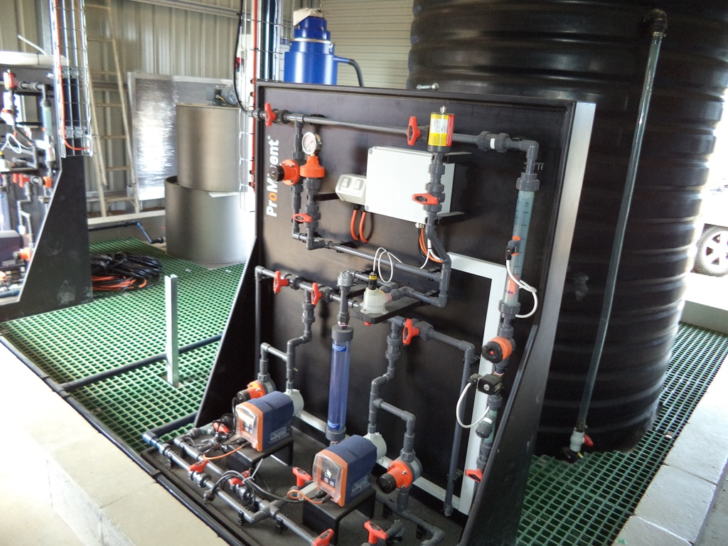 Molong Water Treatment Plant Augmentation Ted Wilson Amp Sons